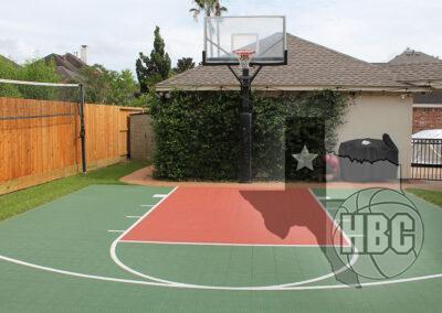 24x24 Basketball Court