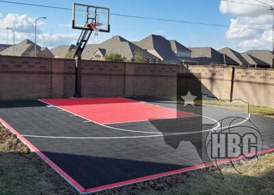 25x30 Basketball Court
