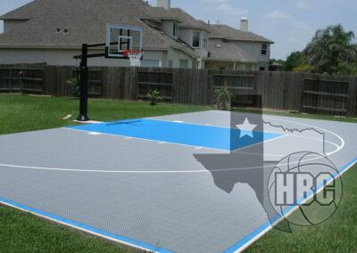 25x45 Basketball Court