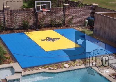 26x26 Basketball Court