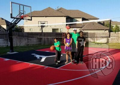 26x45 Basketball Court