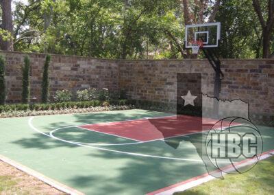 28x30 Basketball Court