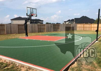 28x45 Basketball Court