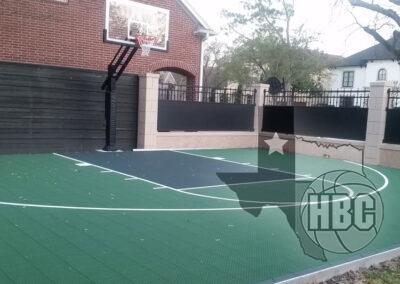 30x35 Basketball Court