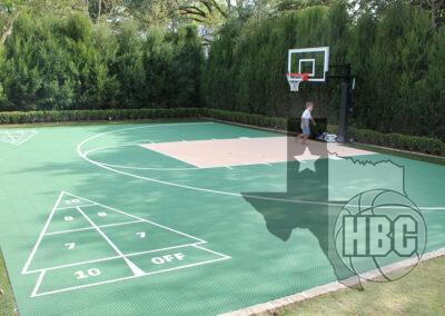 30x45 Basketball Court