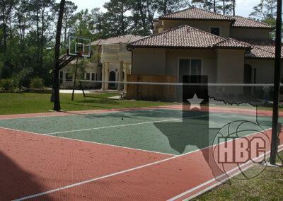 35x70 Basketball Court