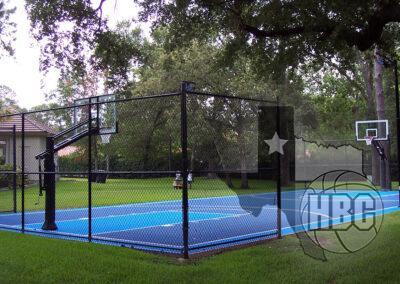 35x75 Outdoor Basketball Court