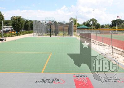 35x80 Basketball Court