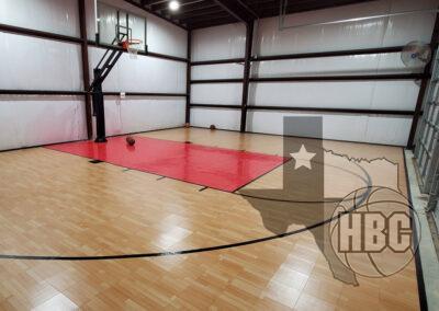30x40 Indoor Basketball Court