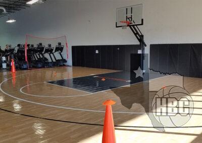 35x50 Indoor Basketball Court