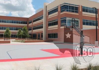 Texas Instruments Basketball Court
