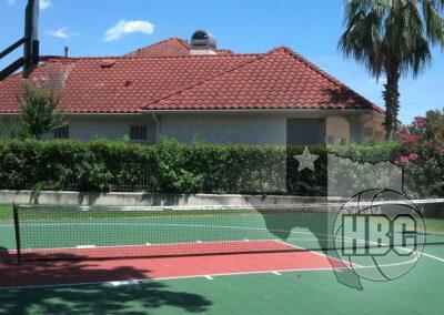 30x50 Basketball Tennis Court