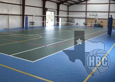 60x110 Indoor Basketball Volleyball Court